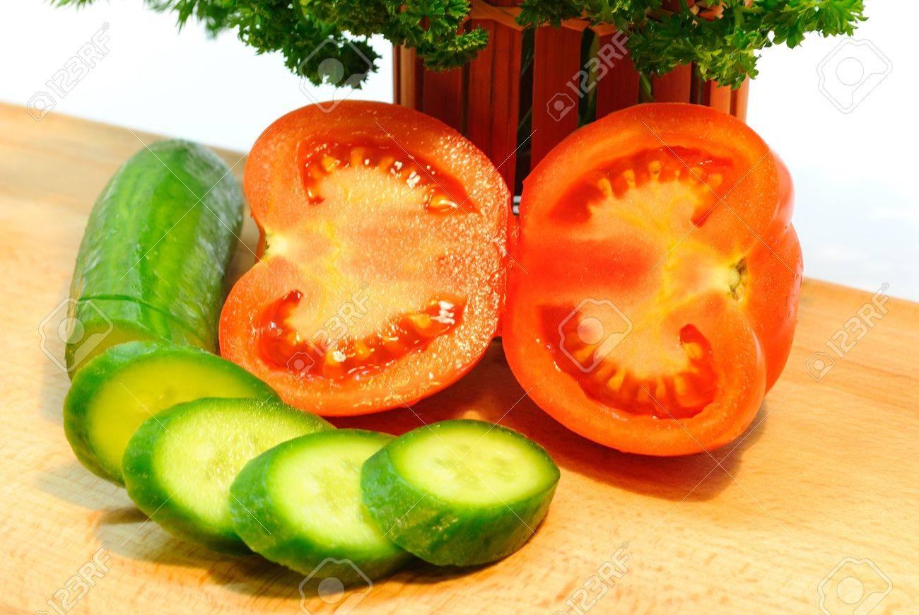 Tomato in a cut - 4388236