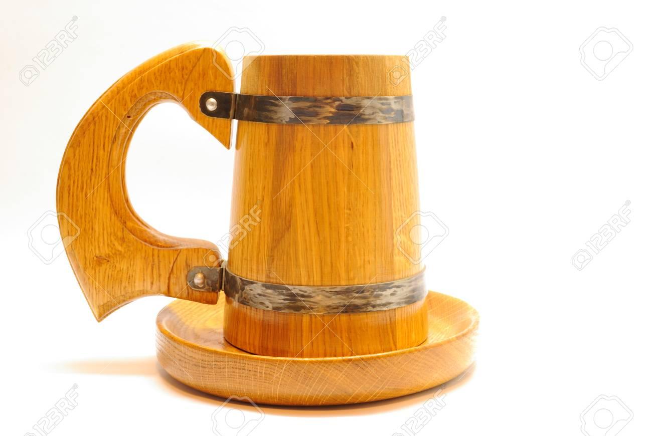 Oak beer mug - 4388217