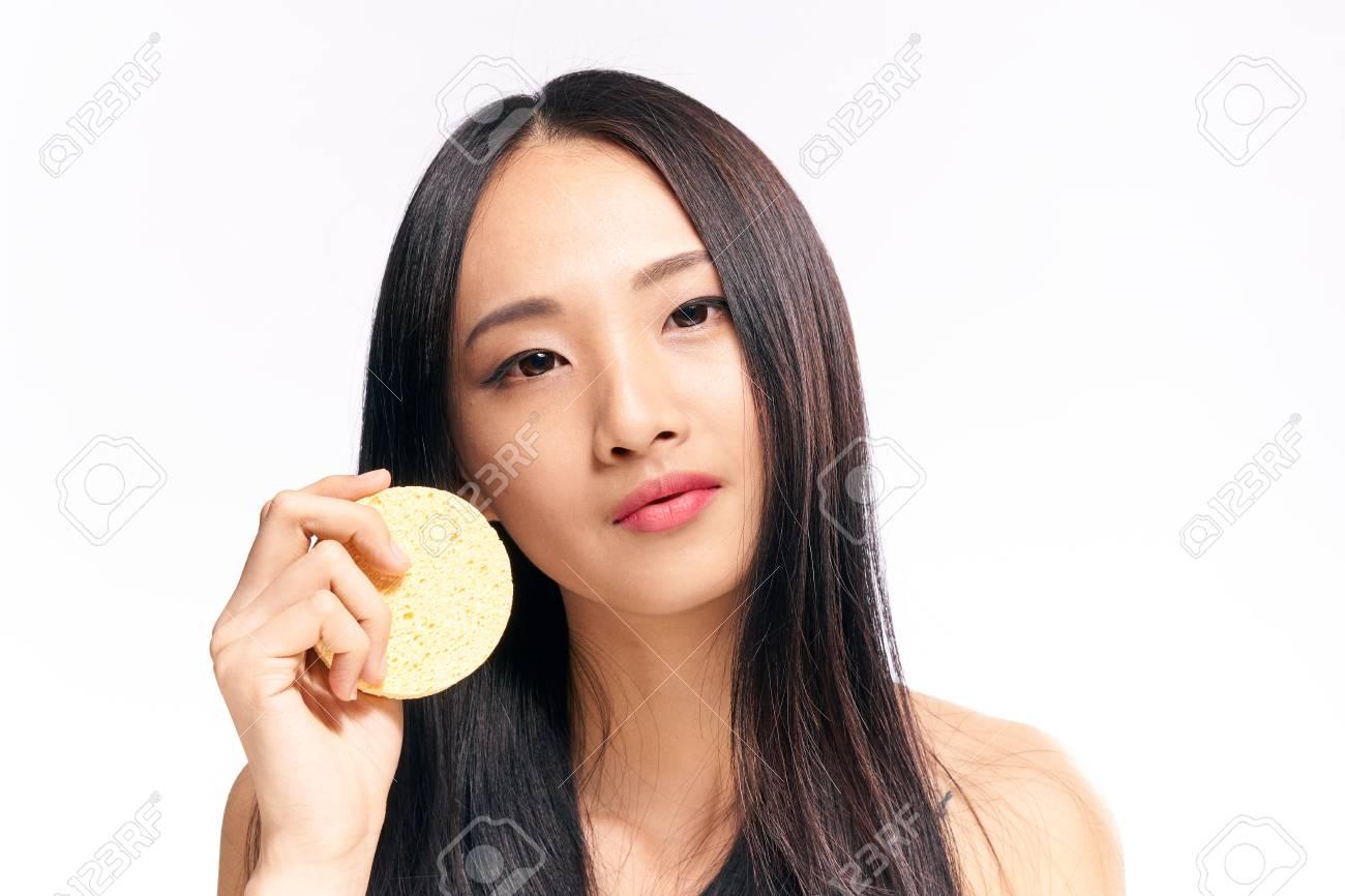 Asian nose lick