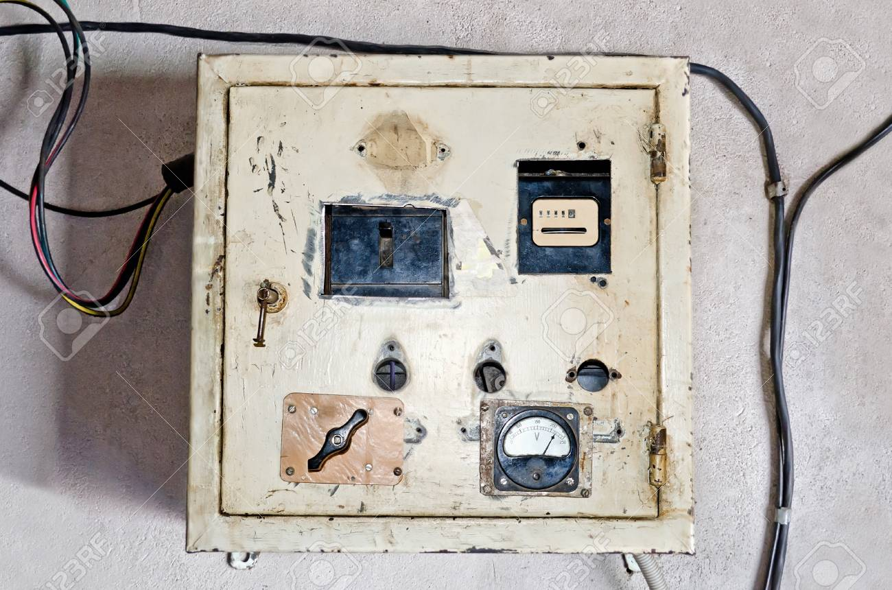 on old electrical panel