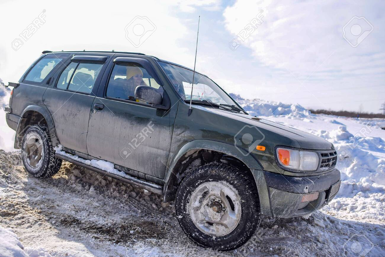Russia Novosibirsk March 23 2020 Offroad Suv Nissan Terrano Stock Photo Picture And Royalty Free Image Image 144457339