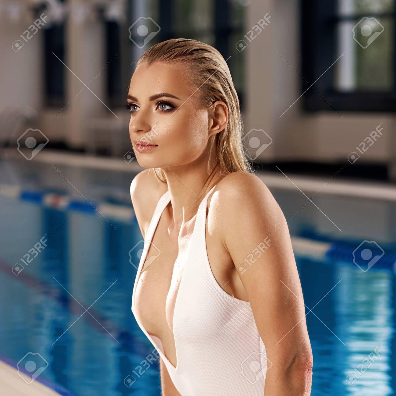Seductive blonde