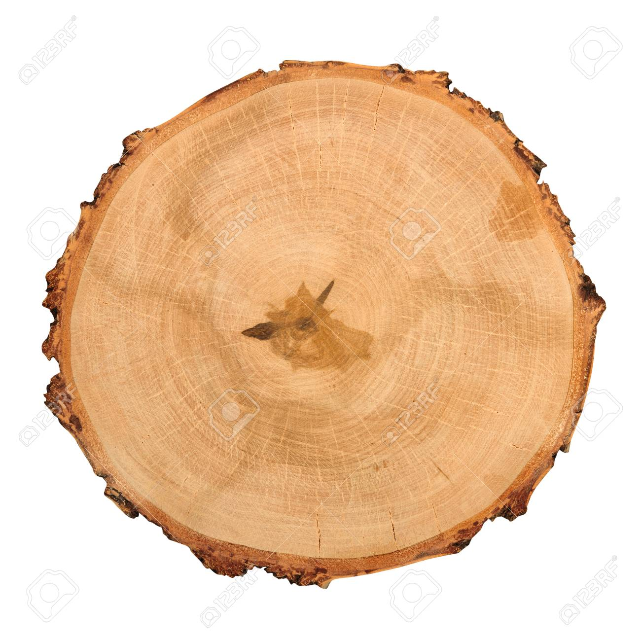 Wooden Round Cutting Board Isolated On White Background Above Stock Photo Picture And Royalty Free Image Image 72103279