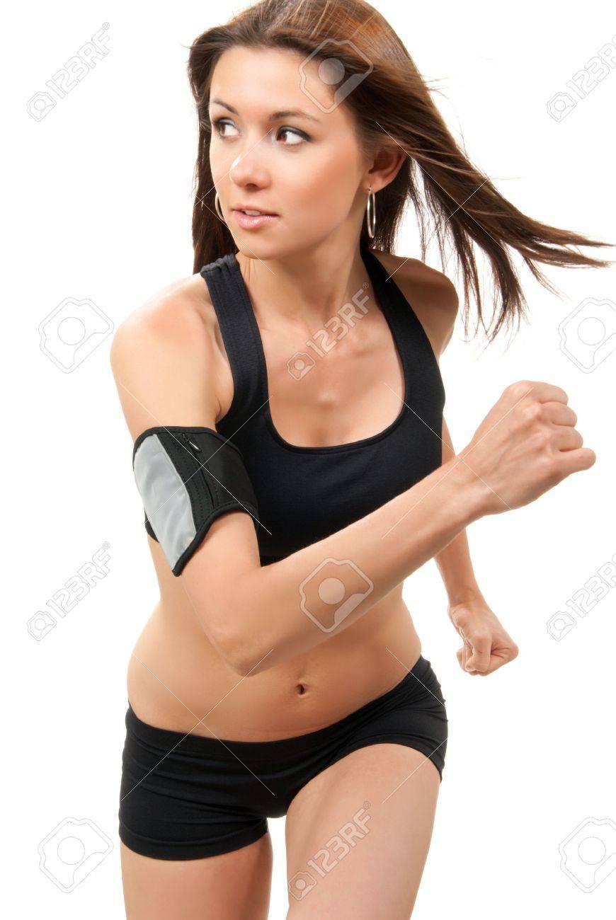 Joggen im Fitnessstudio