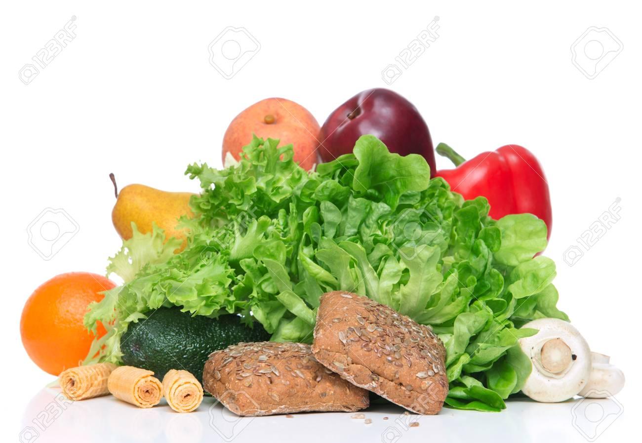 Obst Und Gemuse Diat Gewichtsverlust Morgen Ein Fruhstuck Konzept