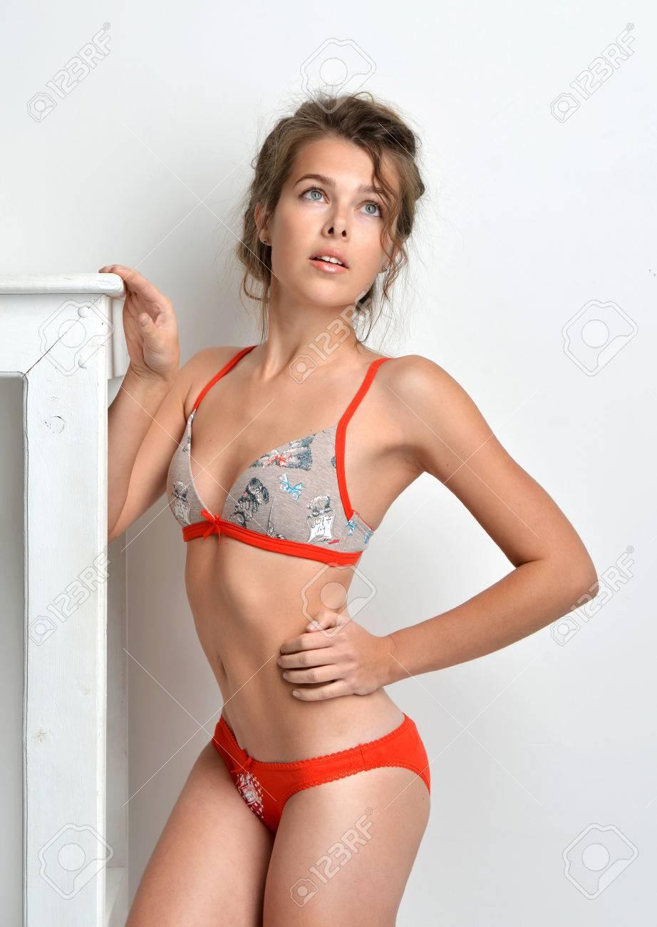 Girl model panties