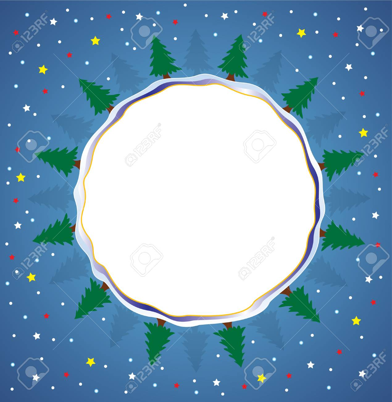 vector illustration of winter holiday background Stock Vector - 5865540