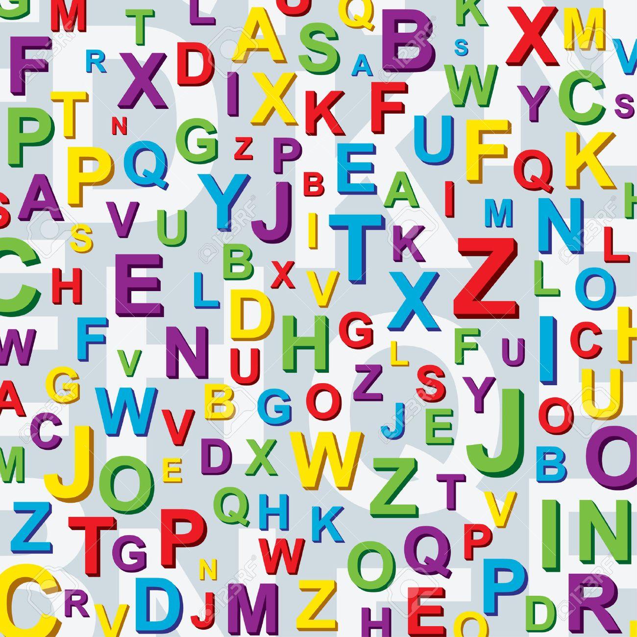 Как сделать букву с фоном картинки