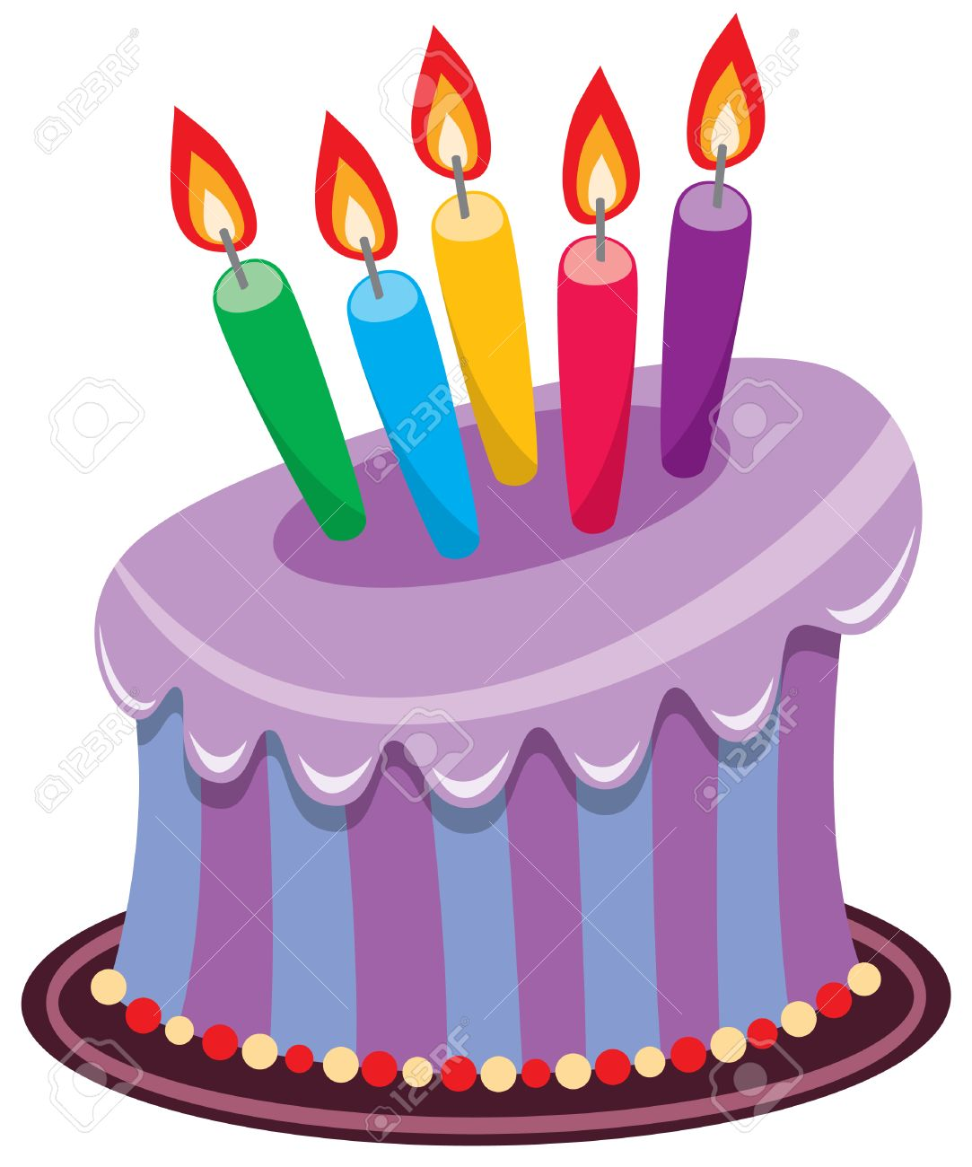 vector birthday cake with burning candles royalty free cliparts rh 123rf com vector birthday cake png vector birthday cake png
