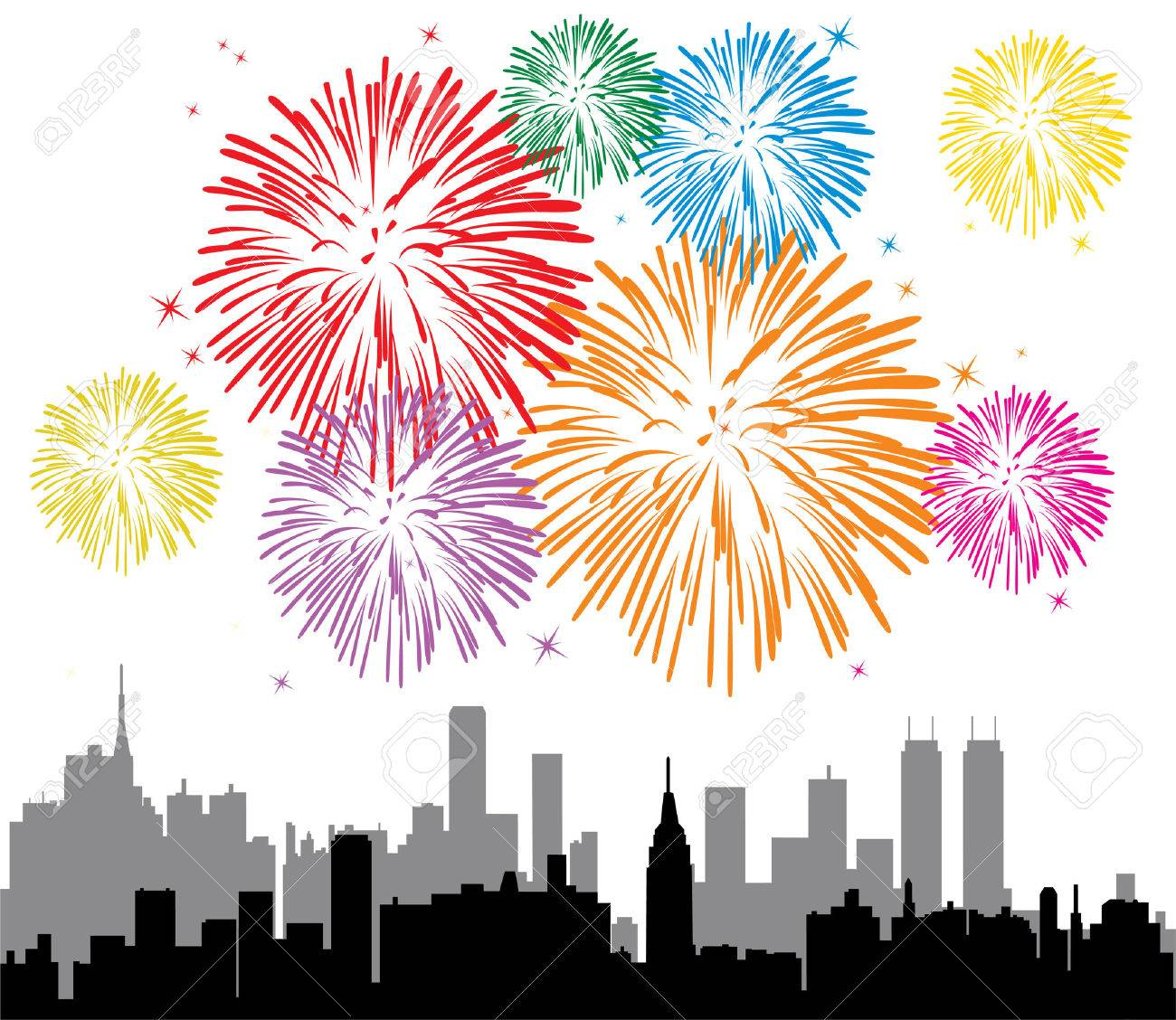 Image result for fireworks white background