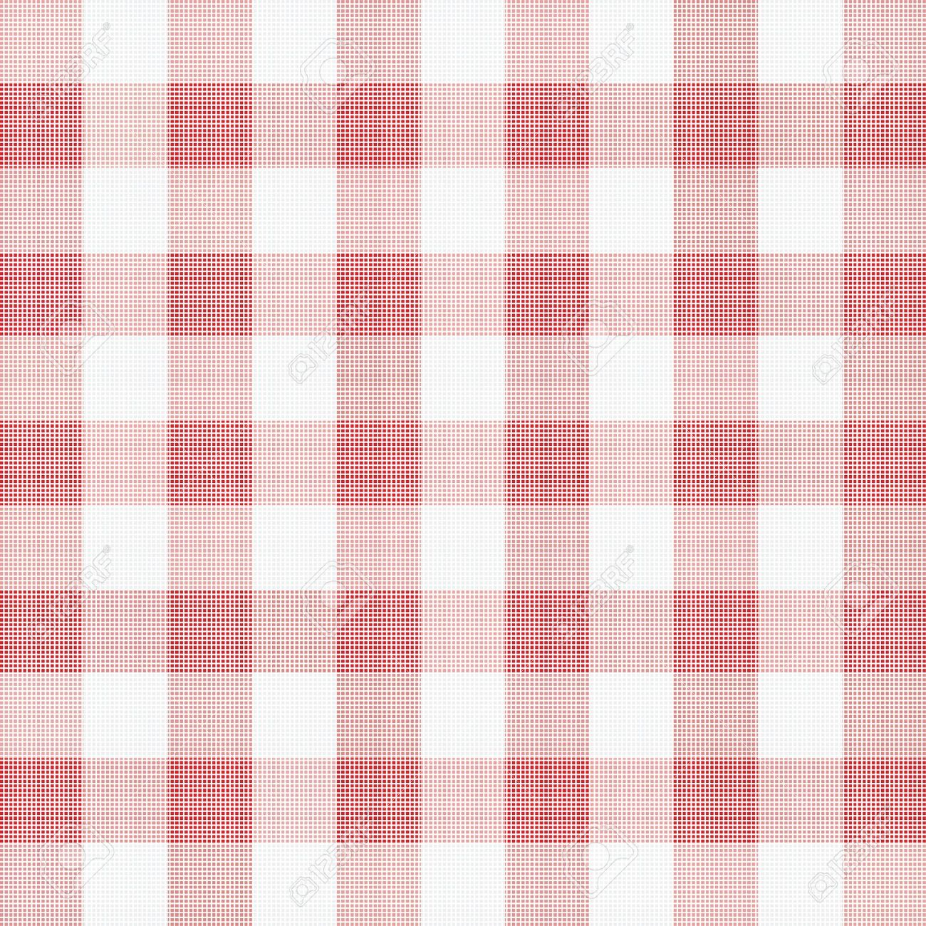 vector illustration of red picnic cloth Stock Vector - 9511867