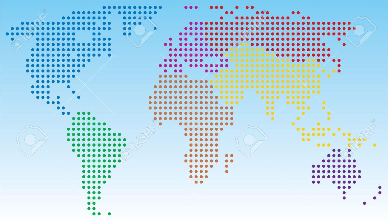 Vector abstract world map royalty free cliparts vectors and vector abstract world map sciox Images