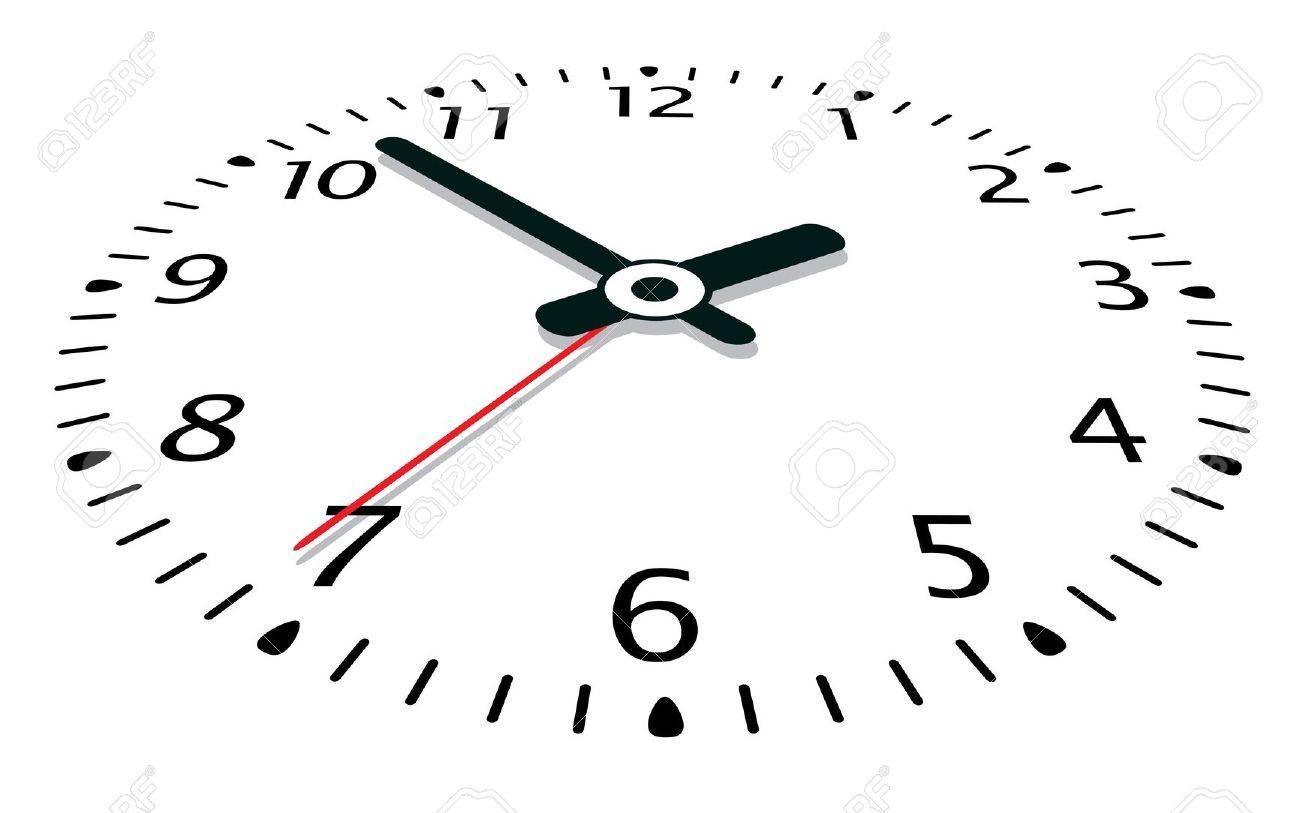 vector illustration of a clock Stock Vector - 11588236