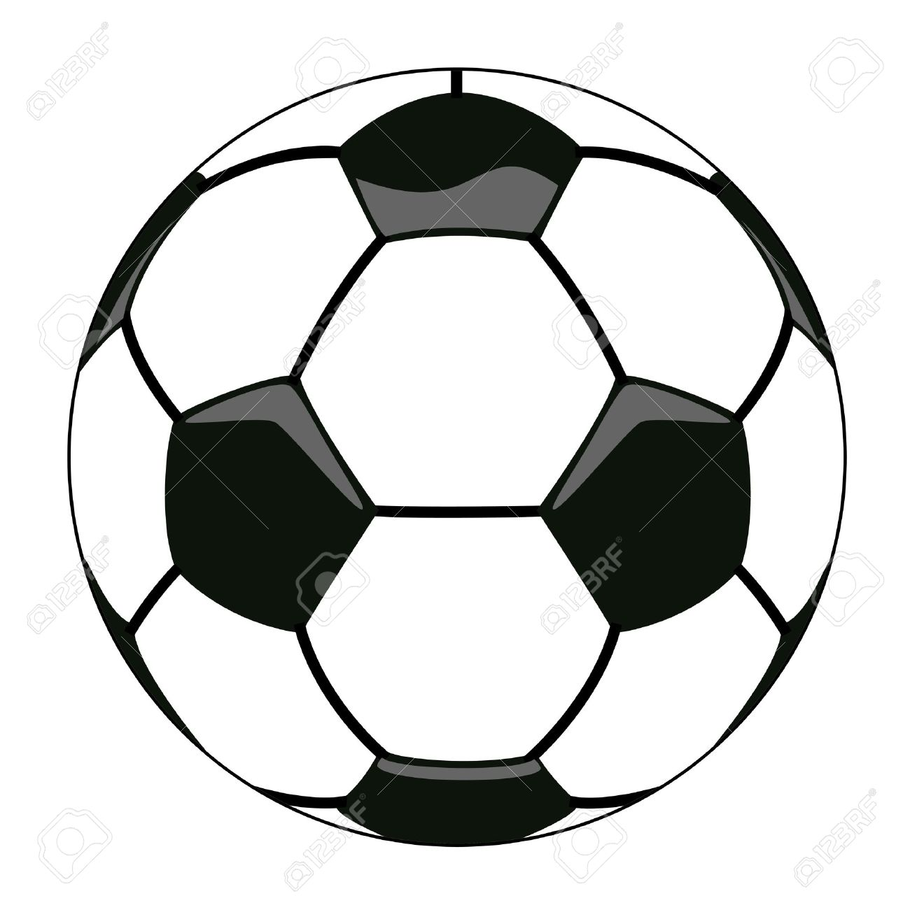 vector illustration of soccer ball clipart royalty free cliparts rh 123rf com ball clip art images ball clipart png