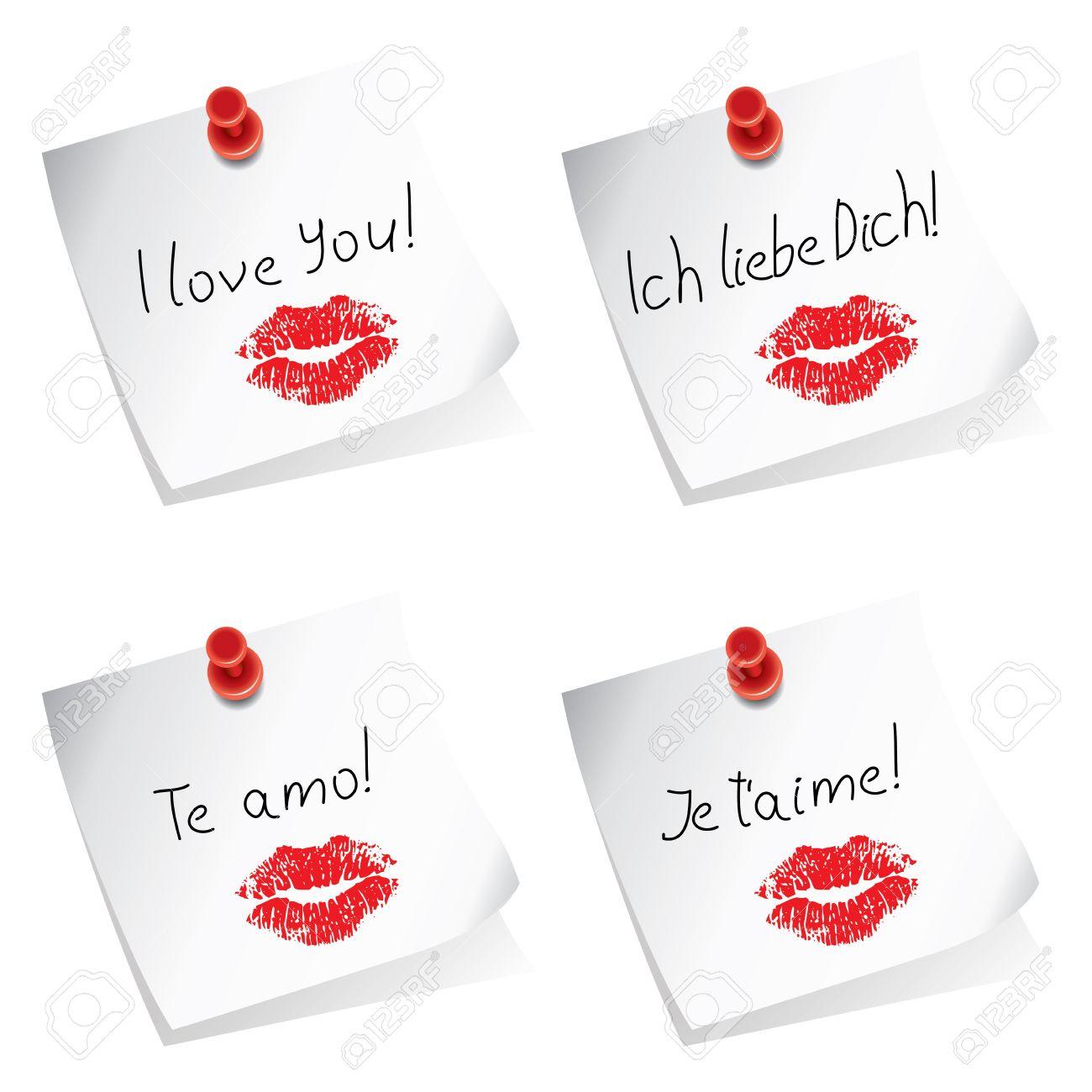 Ich liebe dich texte auf englisch