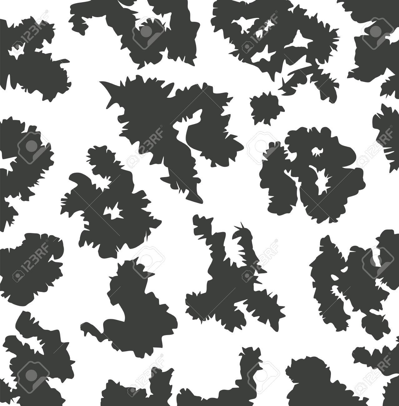 vector animal skin pattern of cow print royalty free cliparts