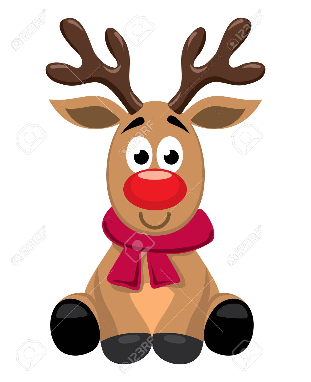 Vector Cute Cartoon Of Red Nosed Reindeer Toy Rudolph Funny Royalty Free Cliparts Vectors And Stock Illustration Image 127708764,Baby Drawer Organizer Ikea