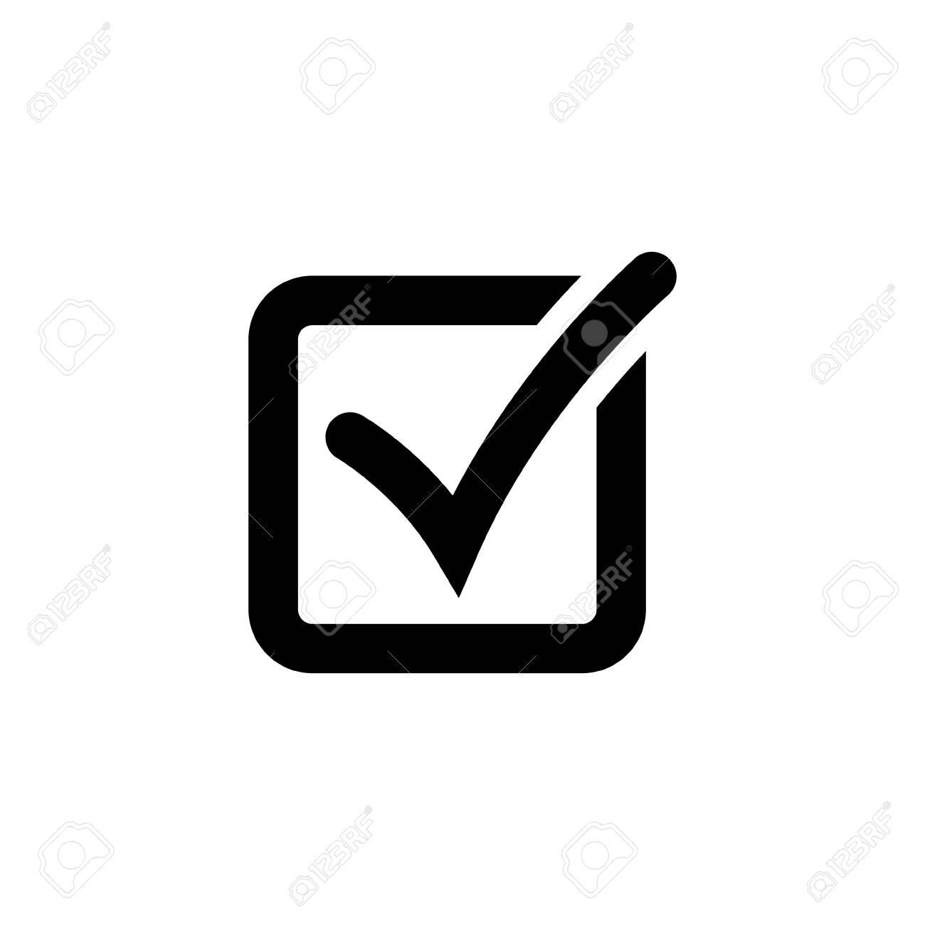 Check mark or checkbox pictogram - 145799423