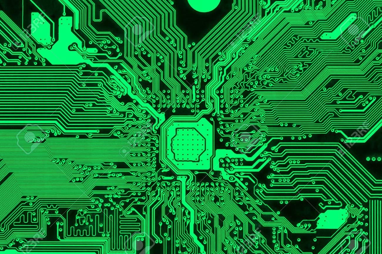 Fantastic Green Printed Circuit Board Modern Pcb Design Background Stock Wiring Digital Resources Operpmognl