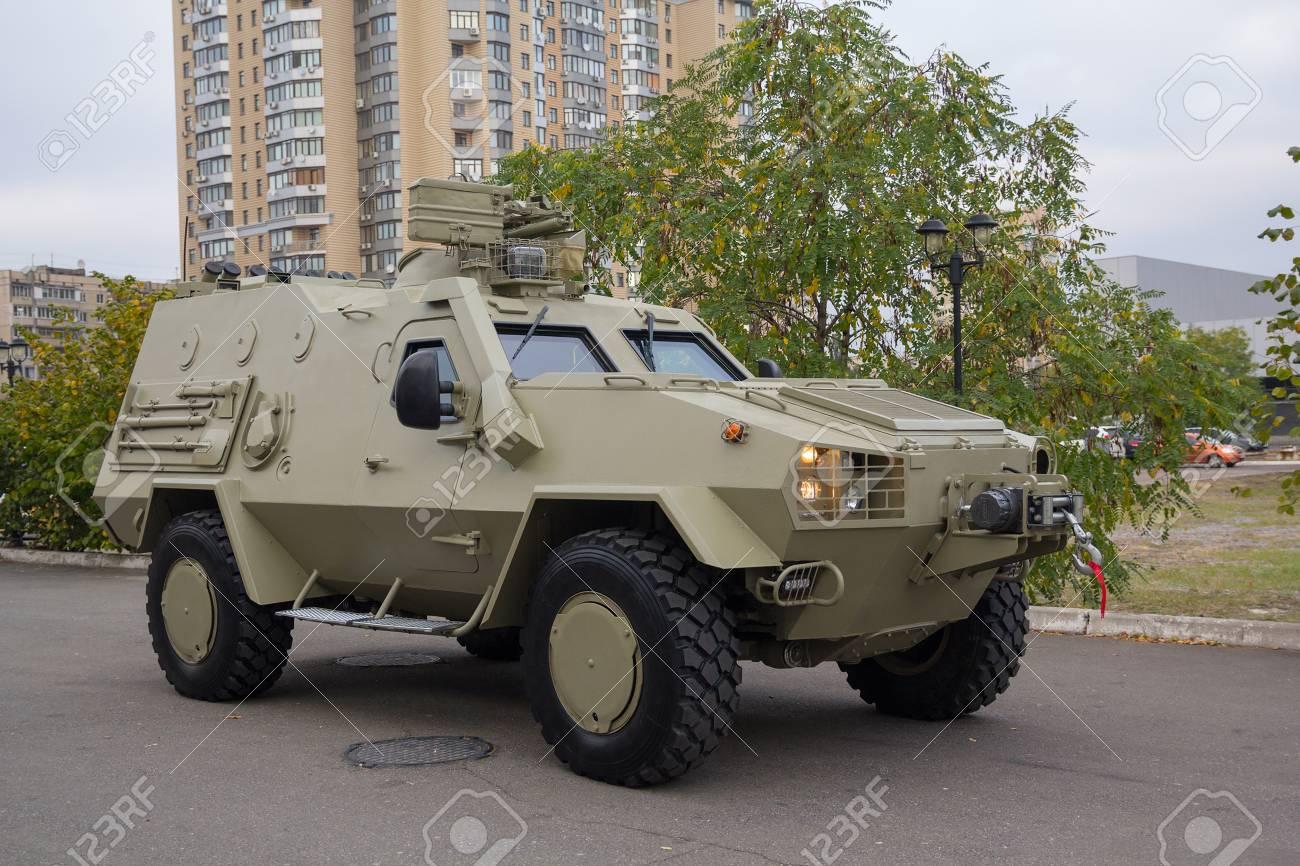 Gepantserde Auto Gemaakt In Oekraine Leger En Industrie Royalty Vrije Foto Plaatjes Beelden En Stock Fotografie Image 75447876
