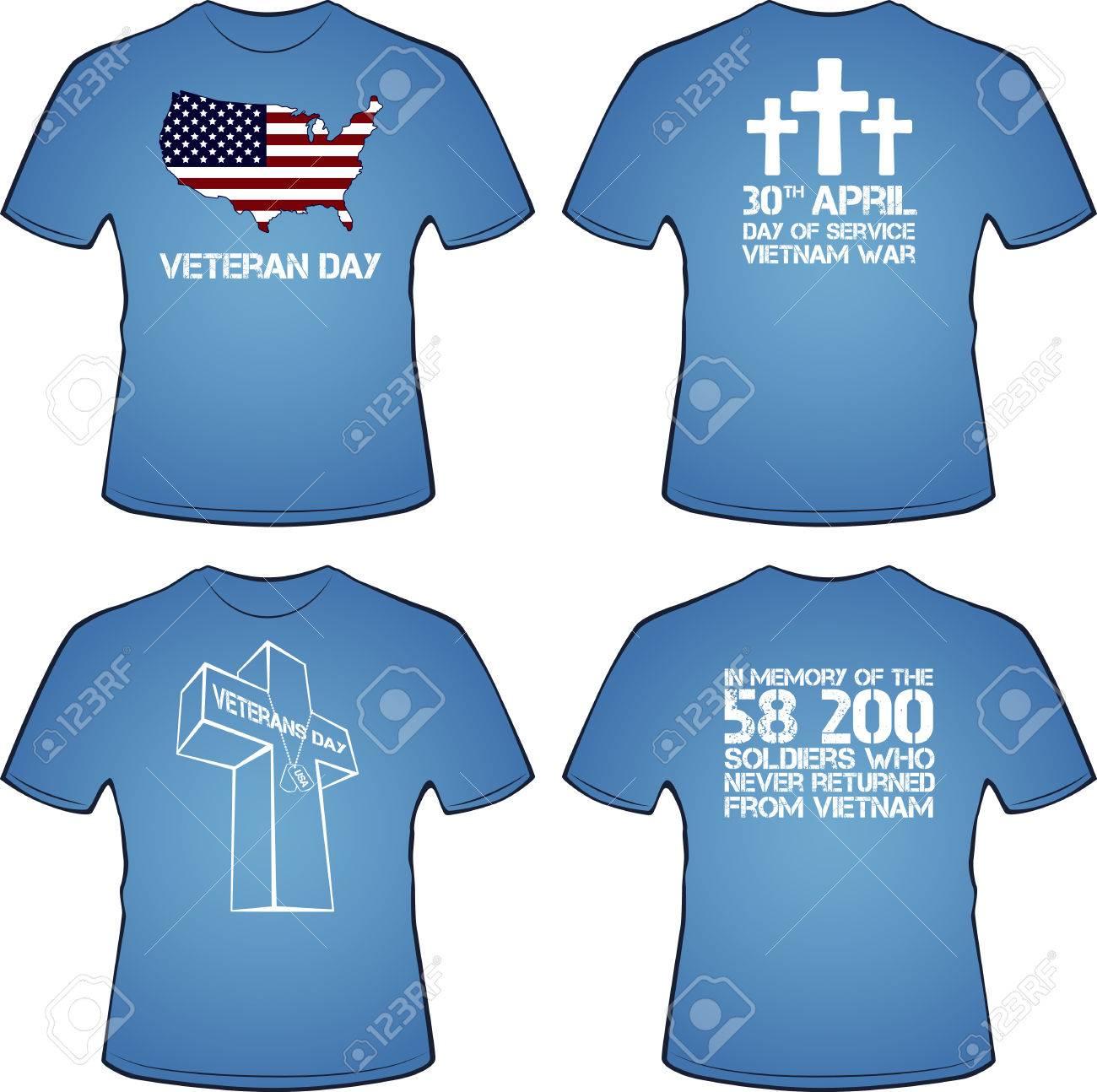 Graphic T Shirt Design Vietnam War Illustration Royalty Free