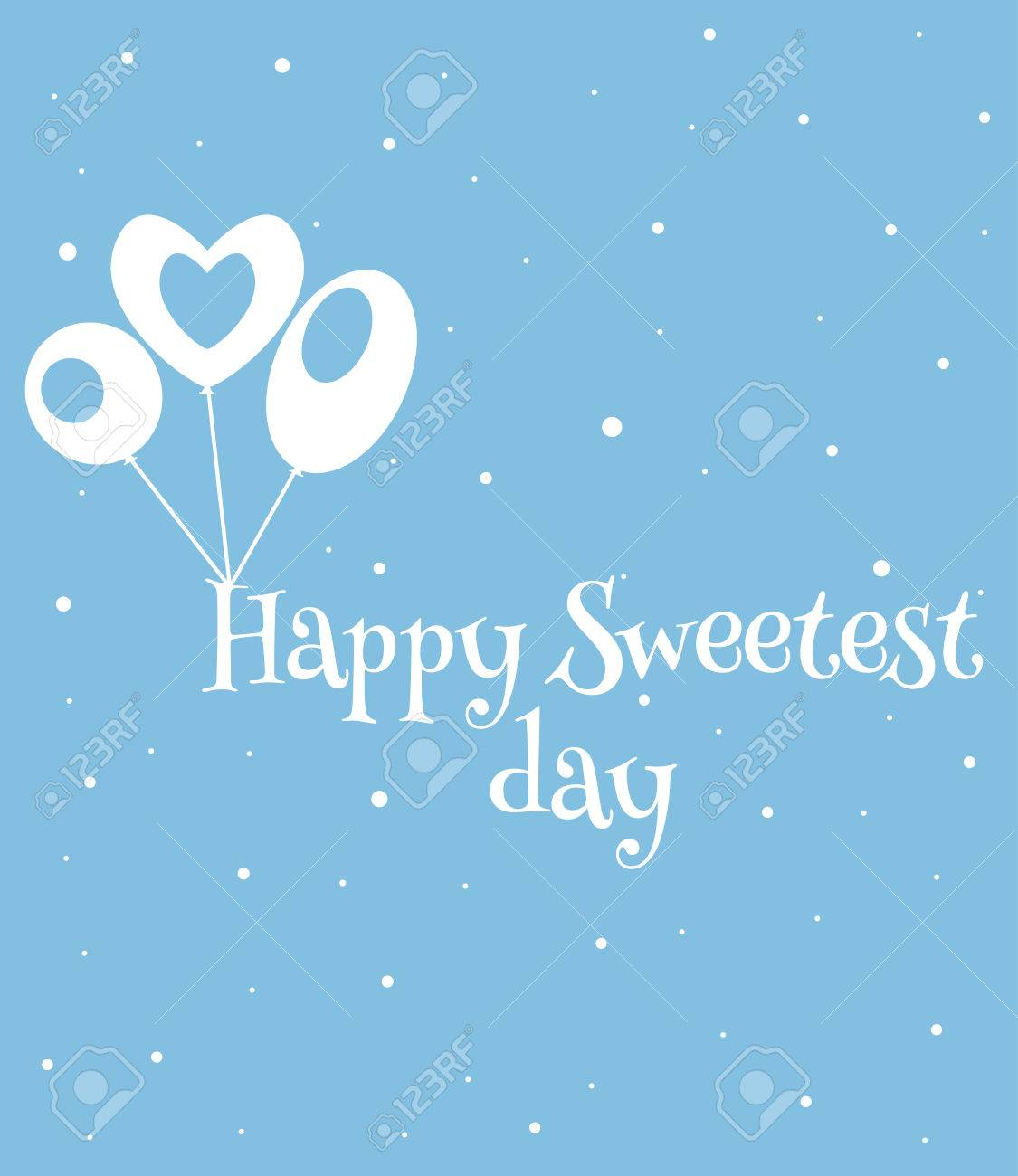 Happy sweetest day greetings card vector illustration royalty free happy sweetest day greetings card vector illustration stock vector 66780723 m4hsunfo
