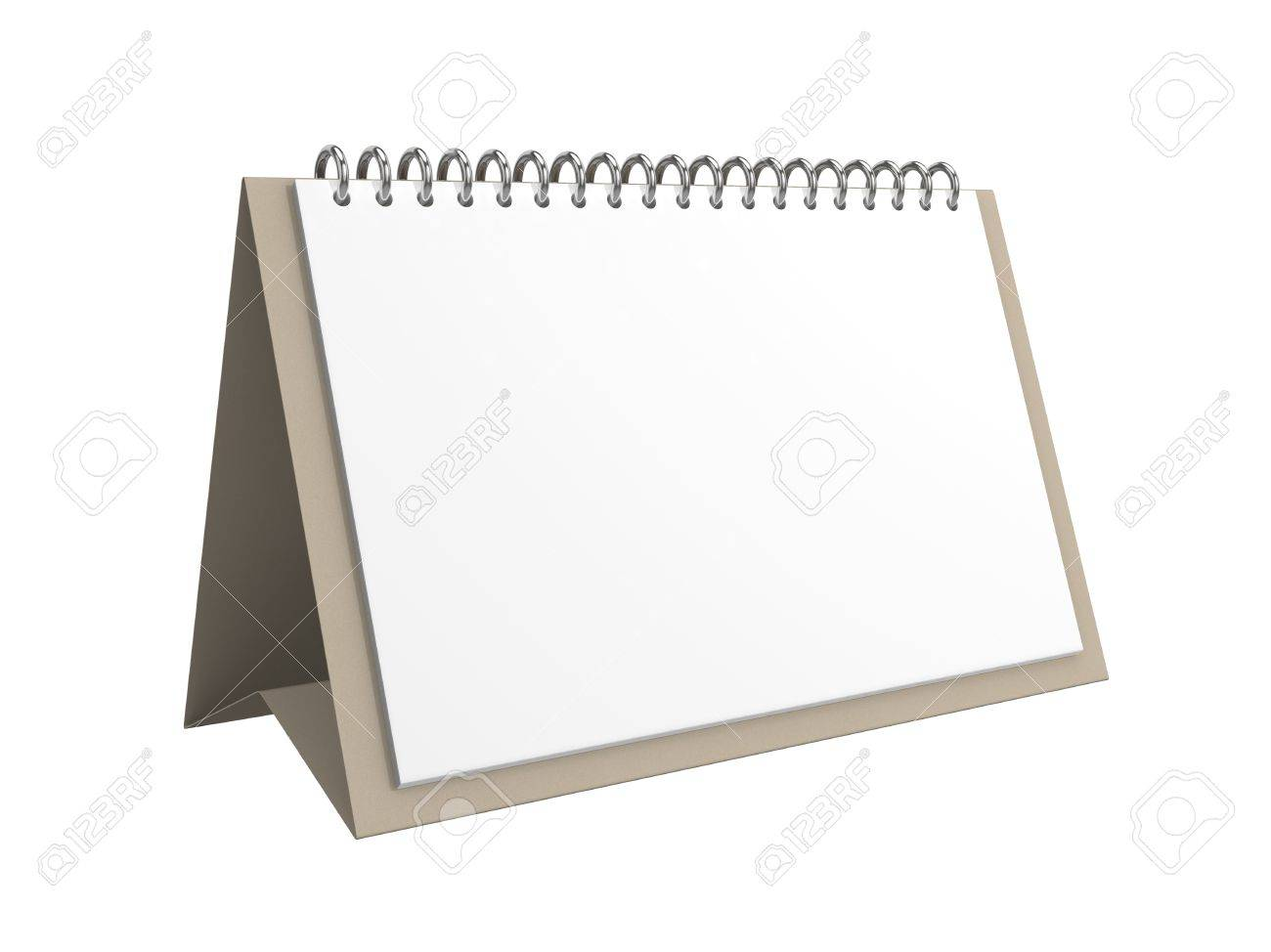 Blank Office Calendar Stock Photo, Picture And Royalty Free Image ...