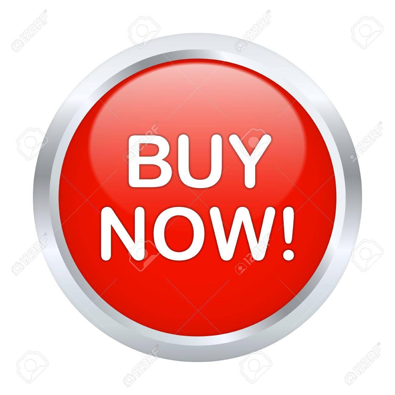 Buy now button. Vector illustration Stock Vector - 13842156