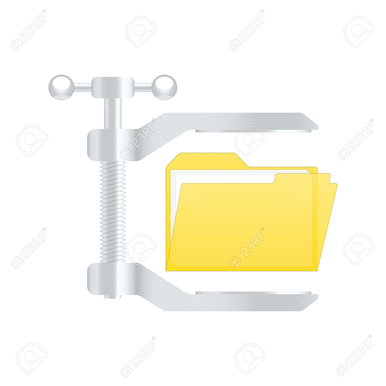 Compress archive icon. Stock Vector - 13966472