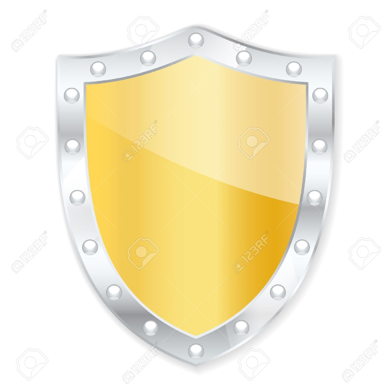 Protection shield. Stock Vector - 16023066