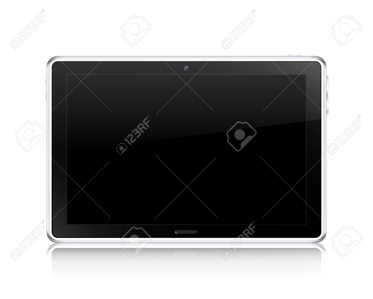 Tablet computer concept  Vector illustration Stock Vector - 16429450