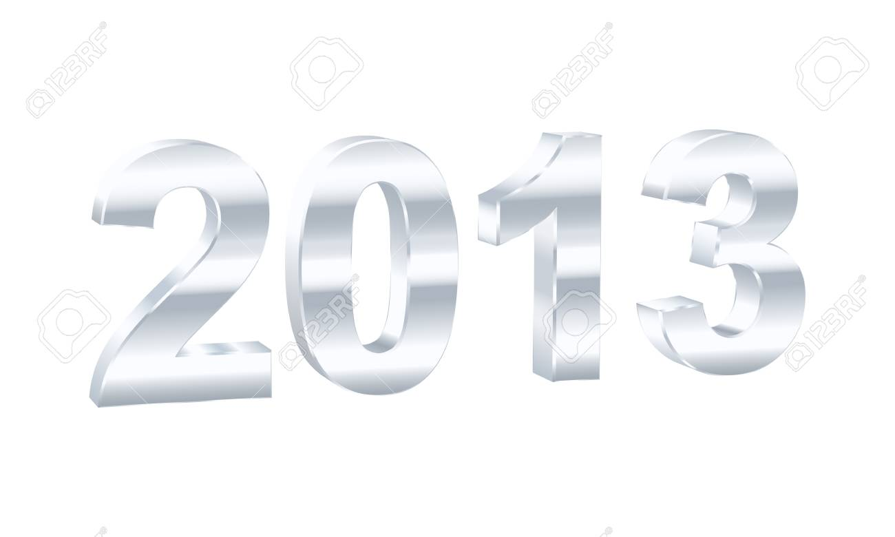 New Year 2013  illustration Stock Vector - 16555200