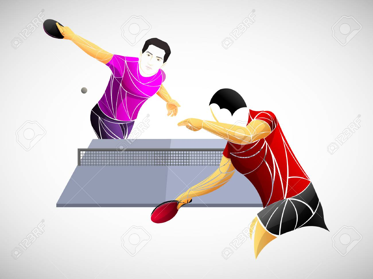 Table Tennis Ping Pong Table Tennis Player Athlete Game