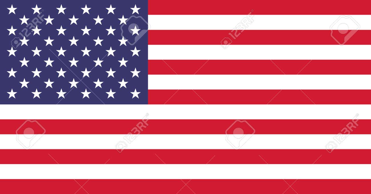 La Bandera Oficial De Los Estados Unidos De América Ilustraciones ... 717ec466c8599