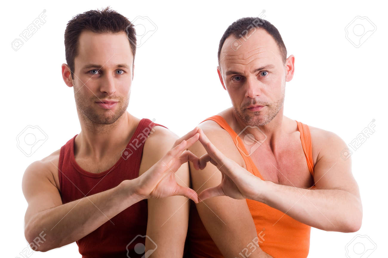 An insight into a happy homo couples relationship Stock Photo - 4441575