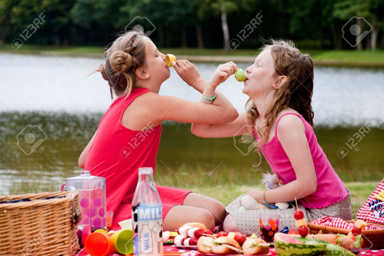 Teenagers having a great time in the park Stock Photo - 5441219