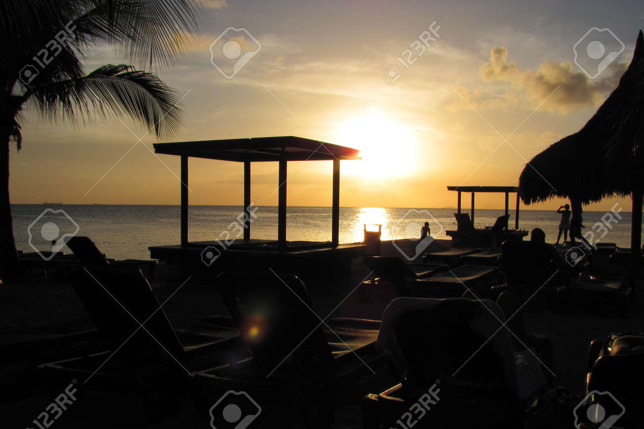 Our happy time on a tropical island Stock Photo - 14171327
