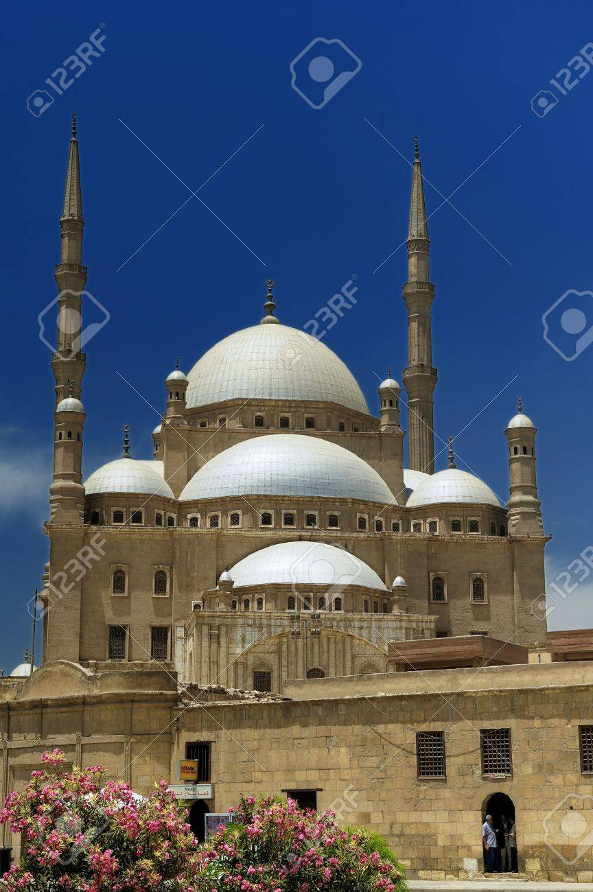 The Mosque Of Muhammad Ali Pasha Or Alabaster Mosque Is A Ottoman
