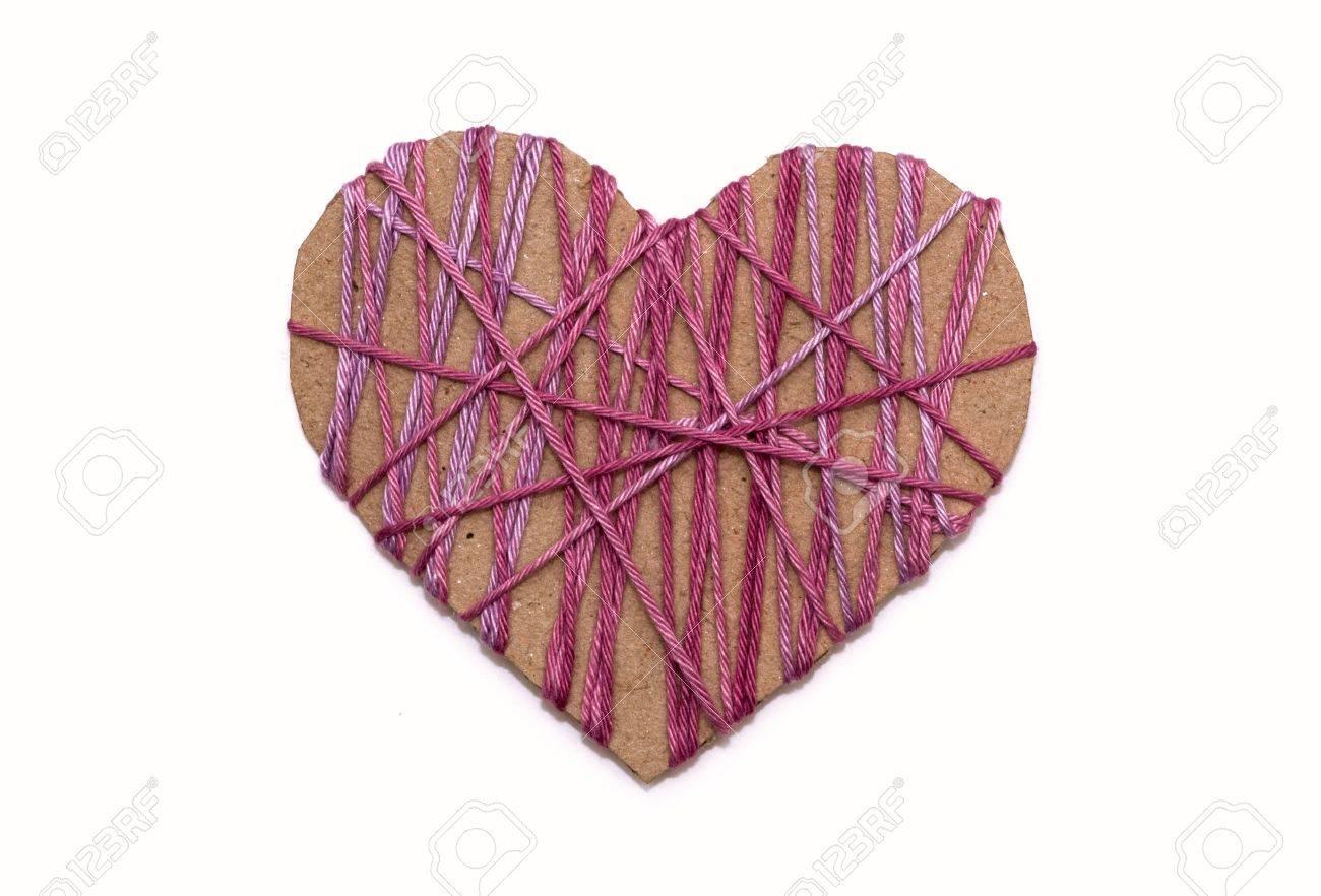 cardboard heart Stock Photo - 7887040