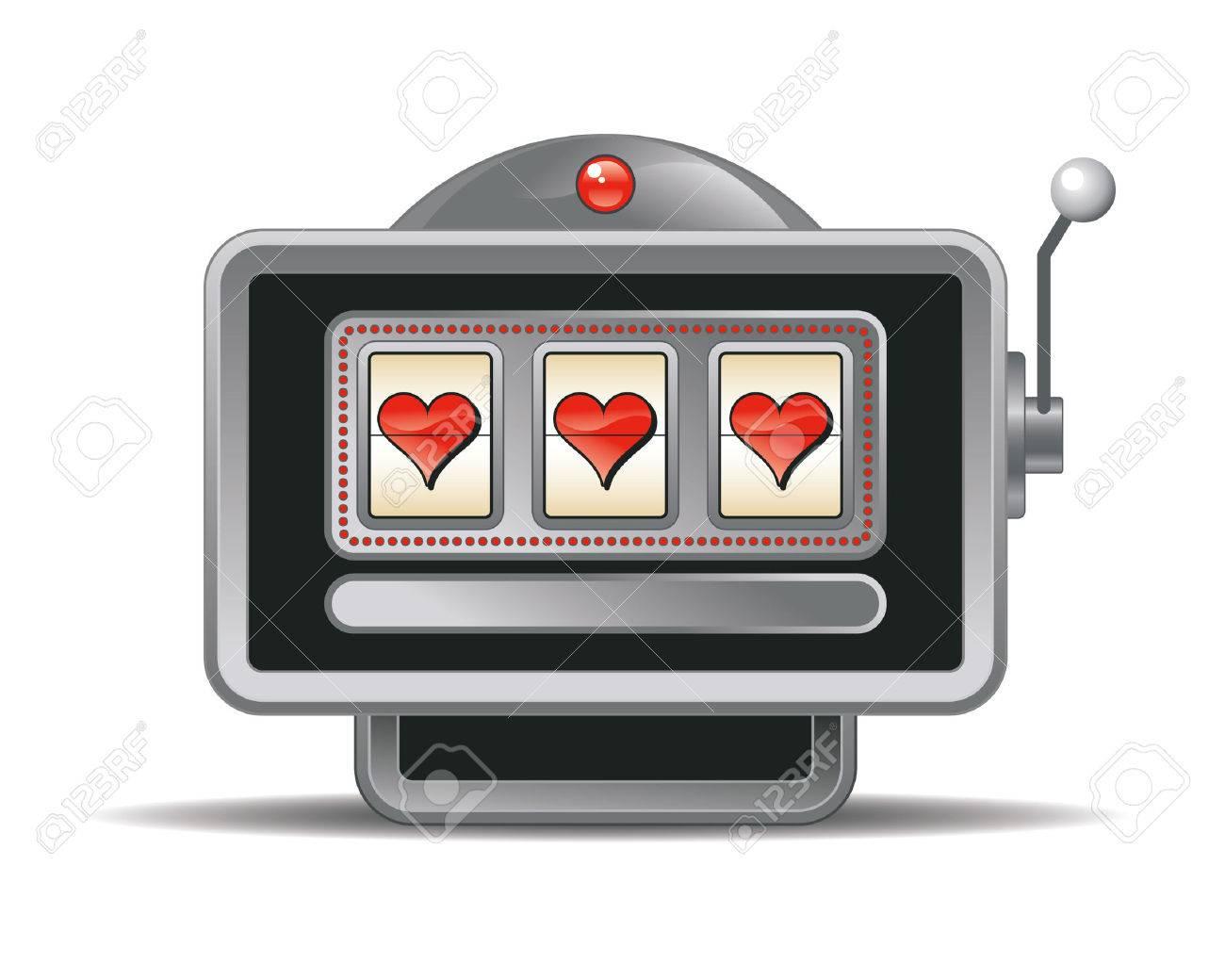 slot-machine Stock Vector - 8030373