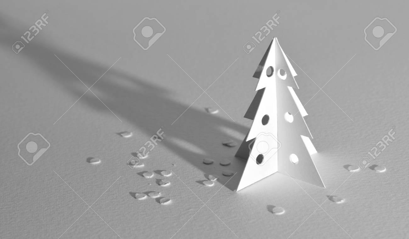 Christmas tree isolated on white Stock Photo - 8253827