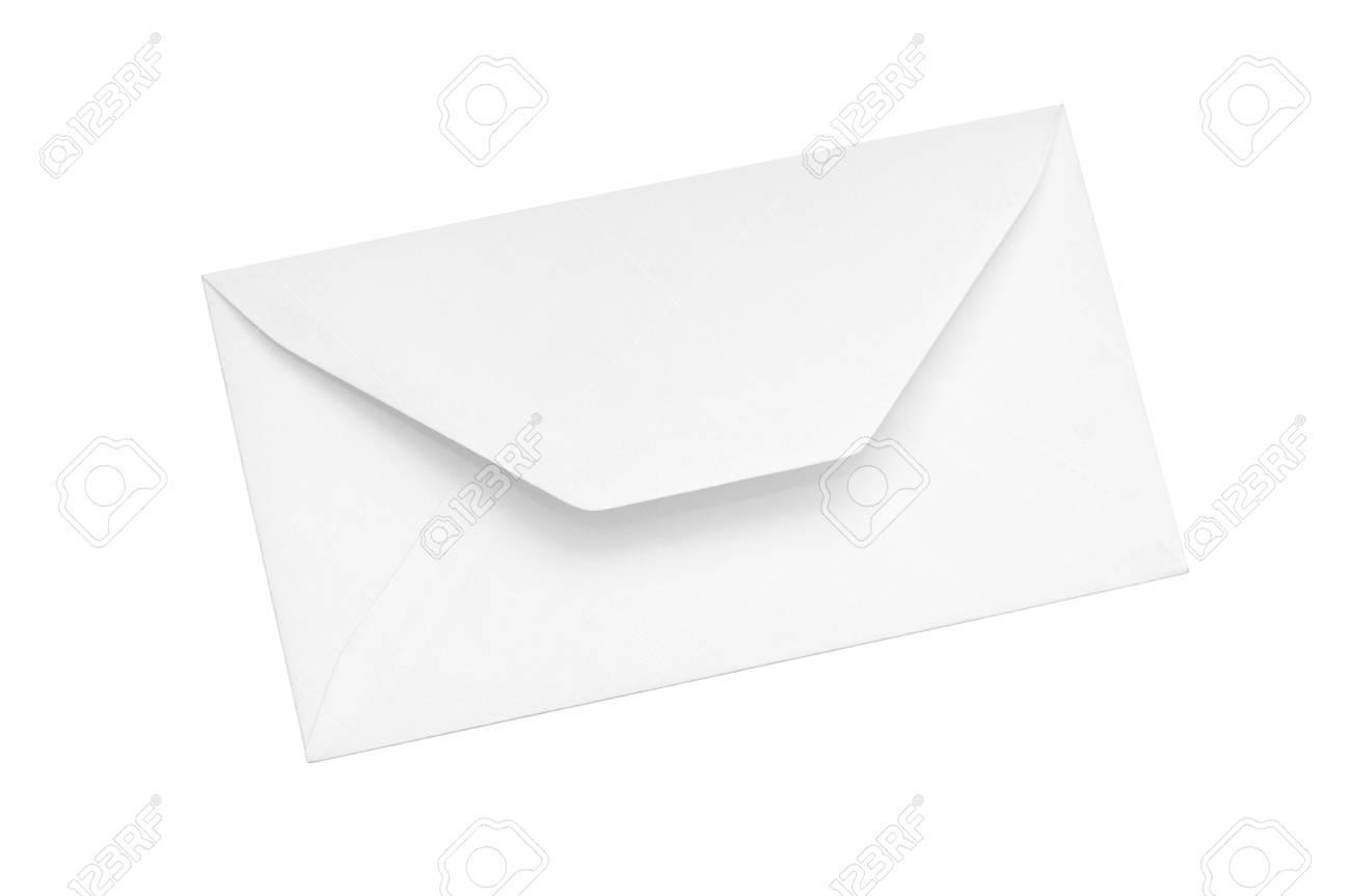 Paper envelope isolated on white background Stock Photo - 11125693