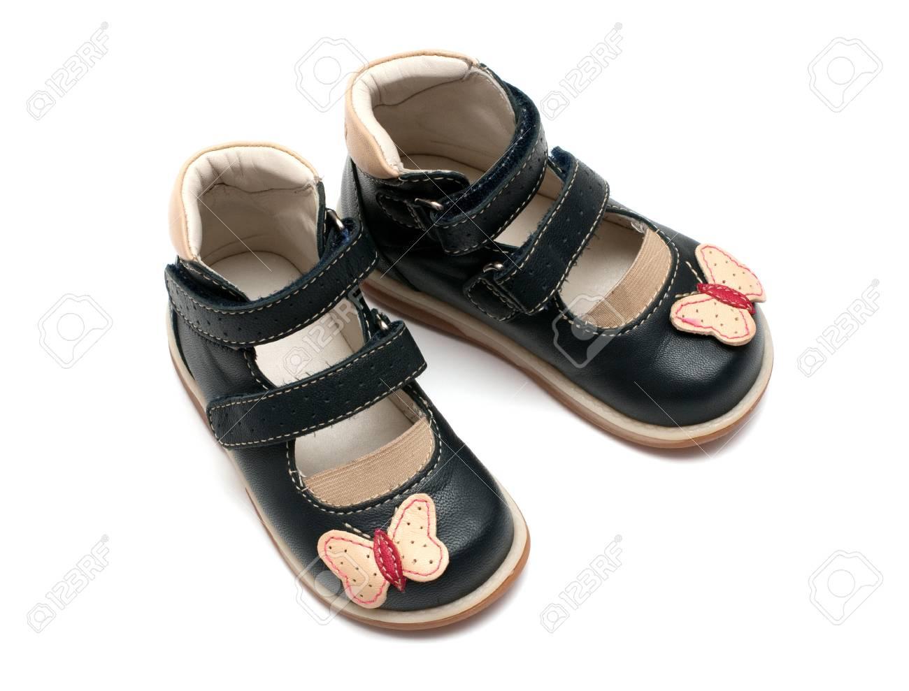 En Aislado Zapatos Archivo De Blanco Niño Un Ortopédicos Foto Par 5R7W0qPqw8