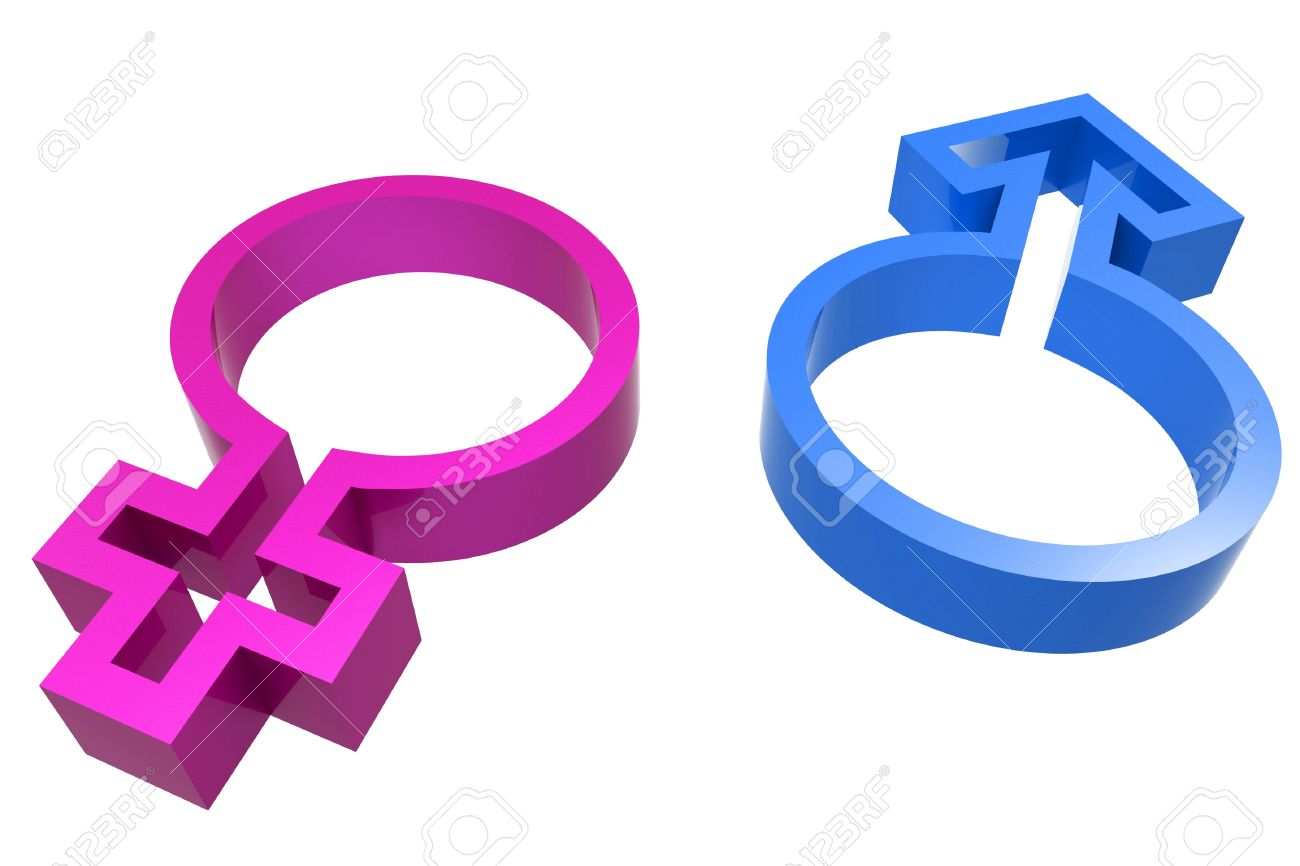 3d male female symbol on white background stock photo picture and 3d male female symbol on white background stock photo 12503002 buycottarizona