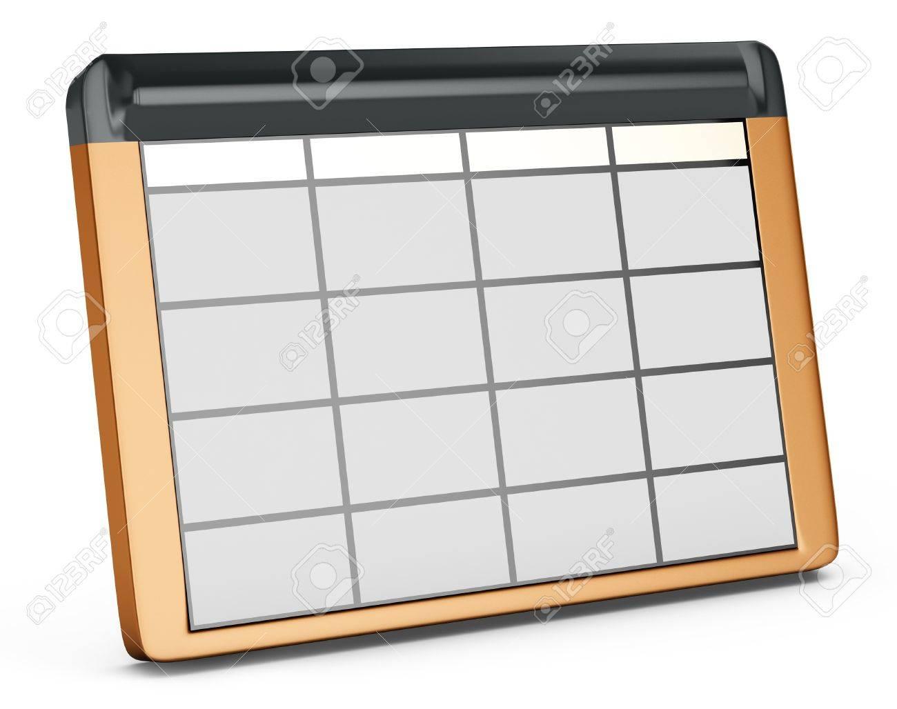 3d database table on white background Stock Photo - 18221584