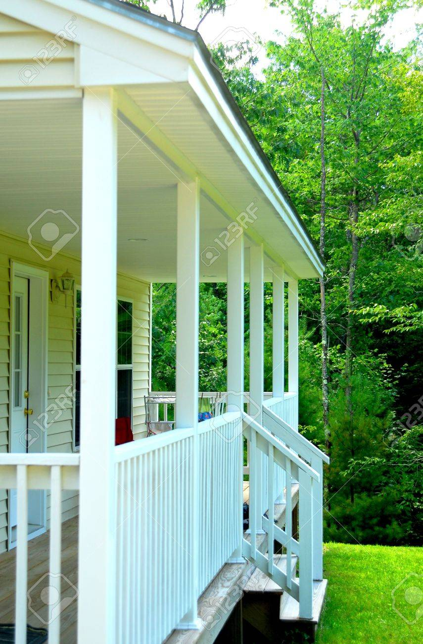 Porch Stock Photo - 3372434