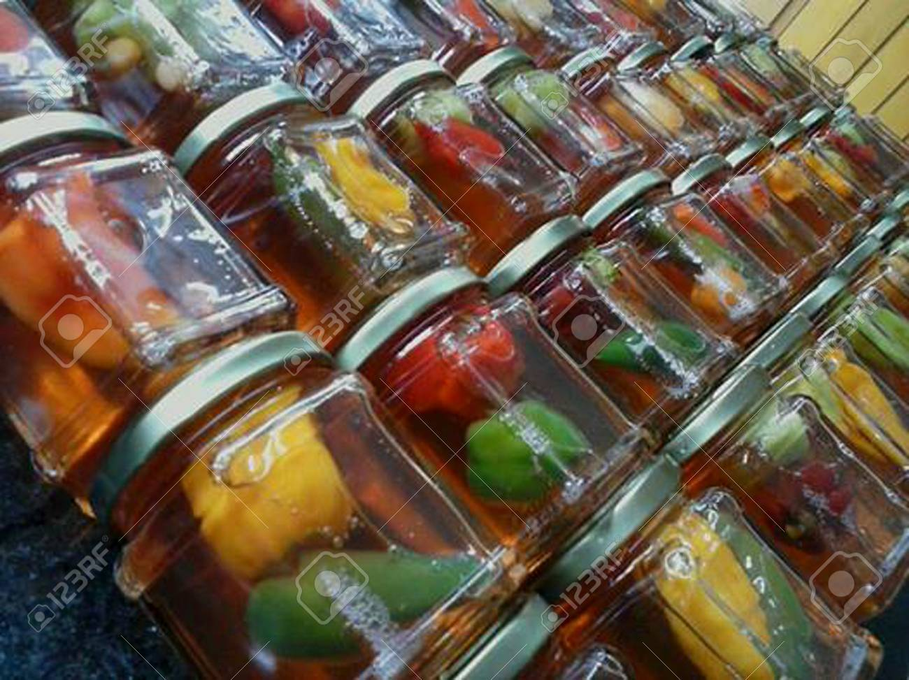Brazilian jellies peppers production tropical exotique - 67646856