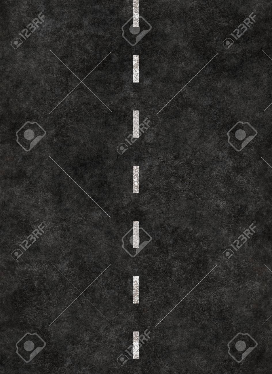 vertical striped line of a road  highway striping
