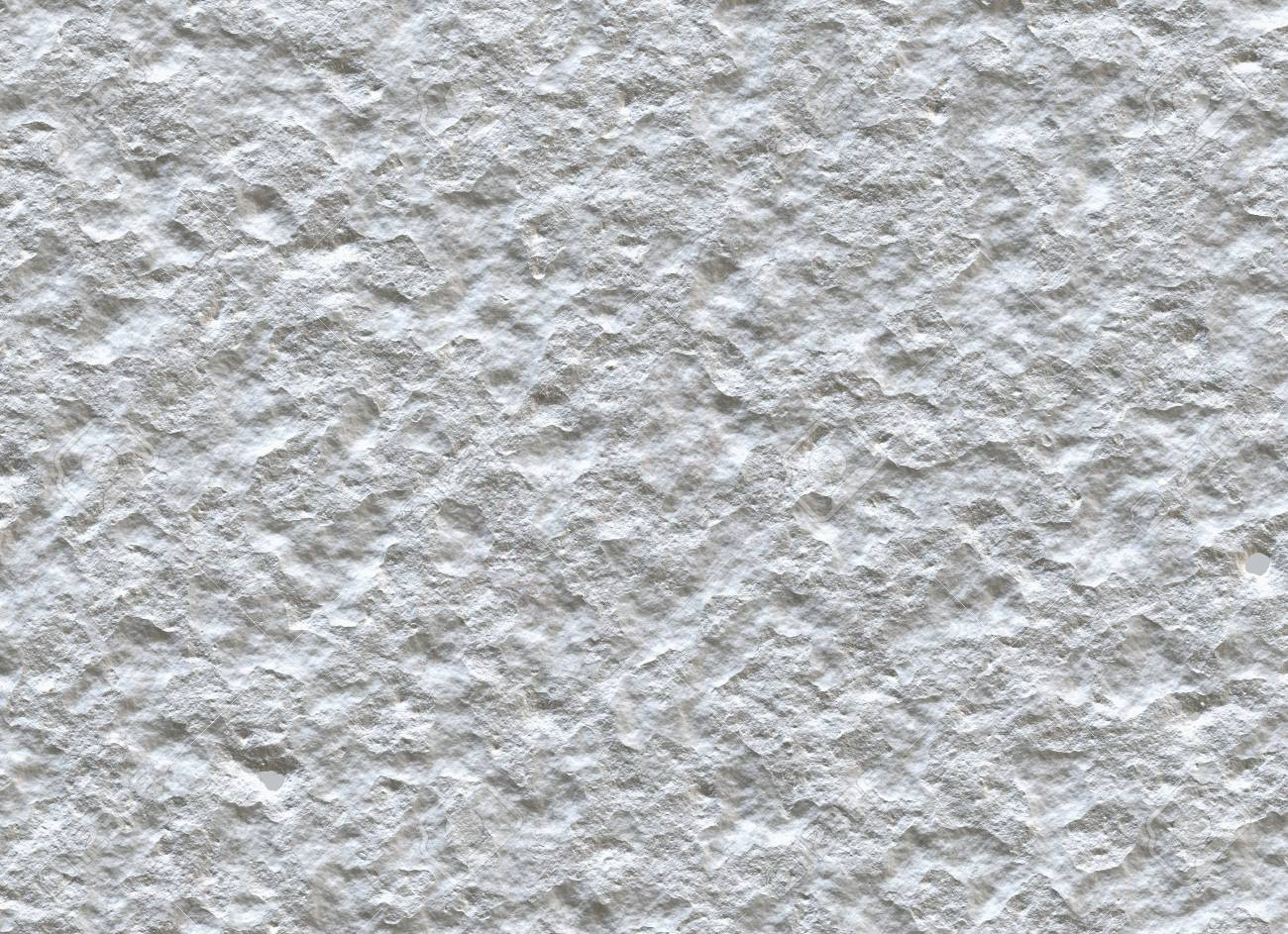 Standard Bild   Weiß Unebenen Wand Aus Naturstein