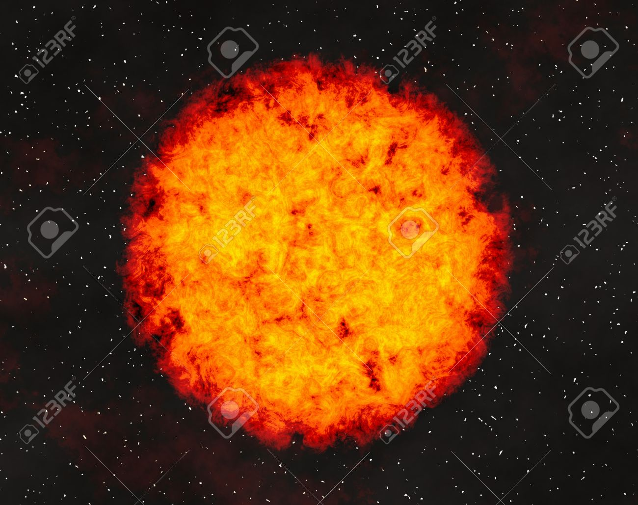 Hot fire planet on space stars backgrounds hot fire planet on space stars backgrounds 36017283 voltagebd Gallery